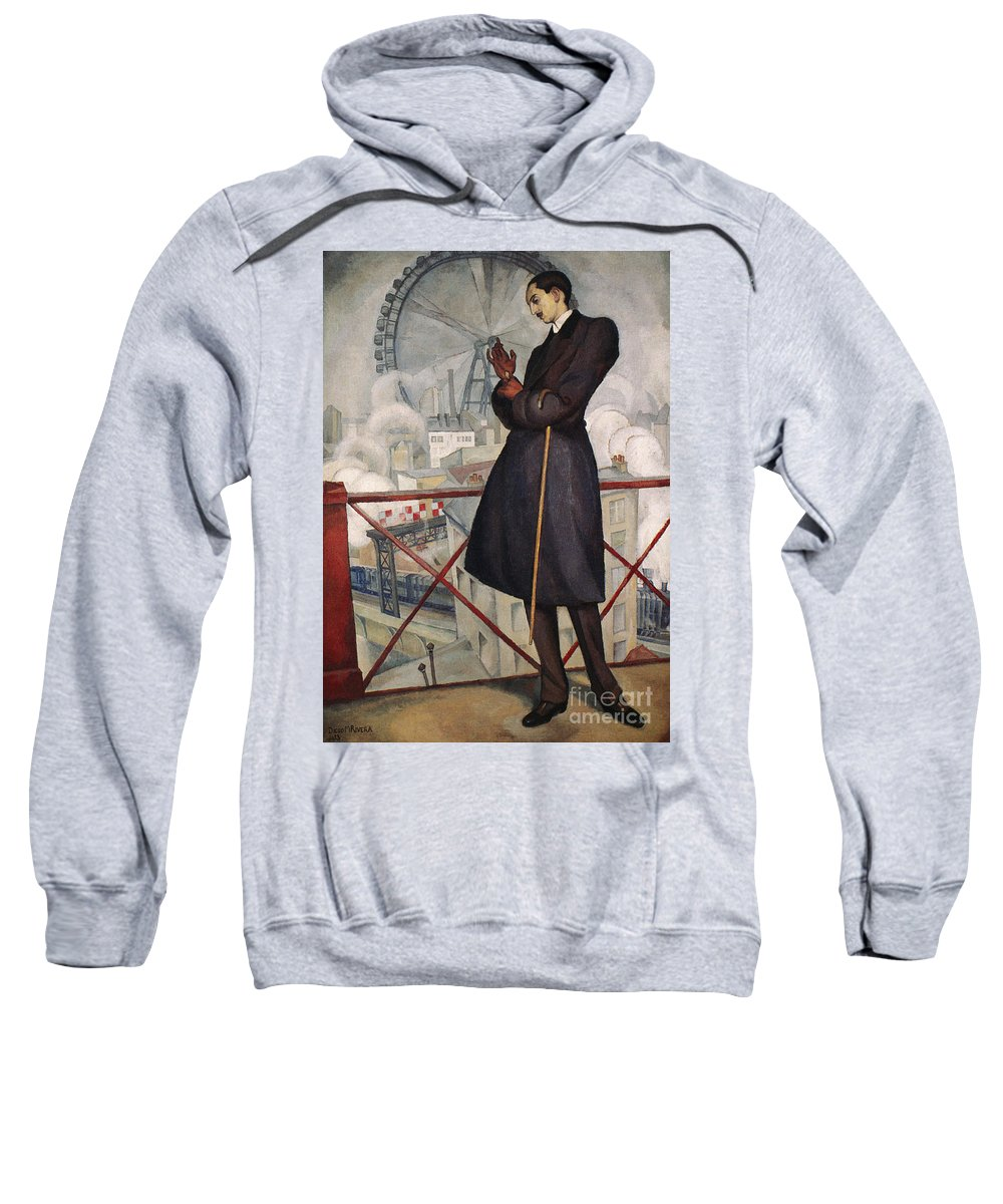 1913 Sweatshirt featuring the photograph Adolfo Best-maugard by Granger