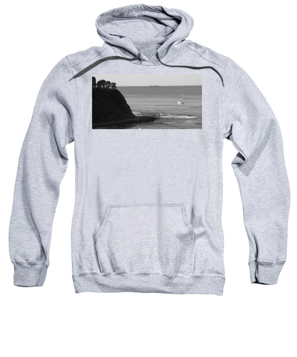 Ocean Sweatshirt featuring the photograph Adrift by Shari Chavira