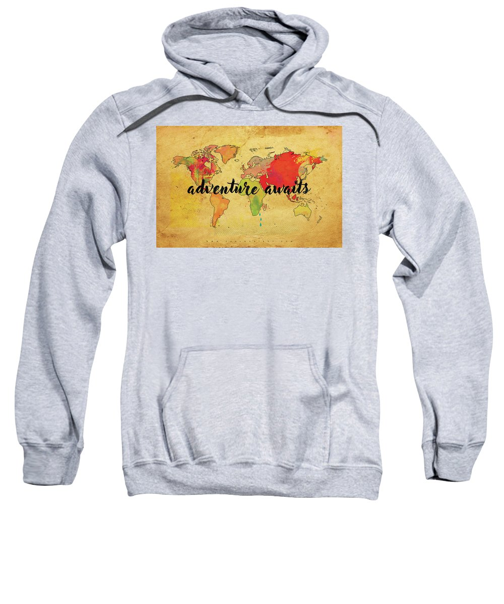 Adventure Sweatshirt featuring the digital art Adventure by Phalguni Roy