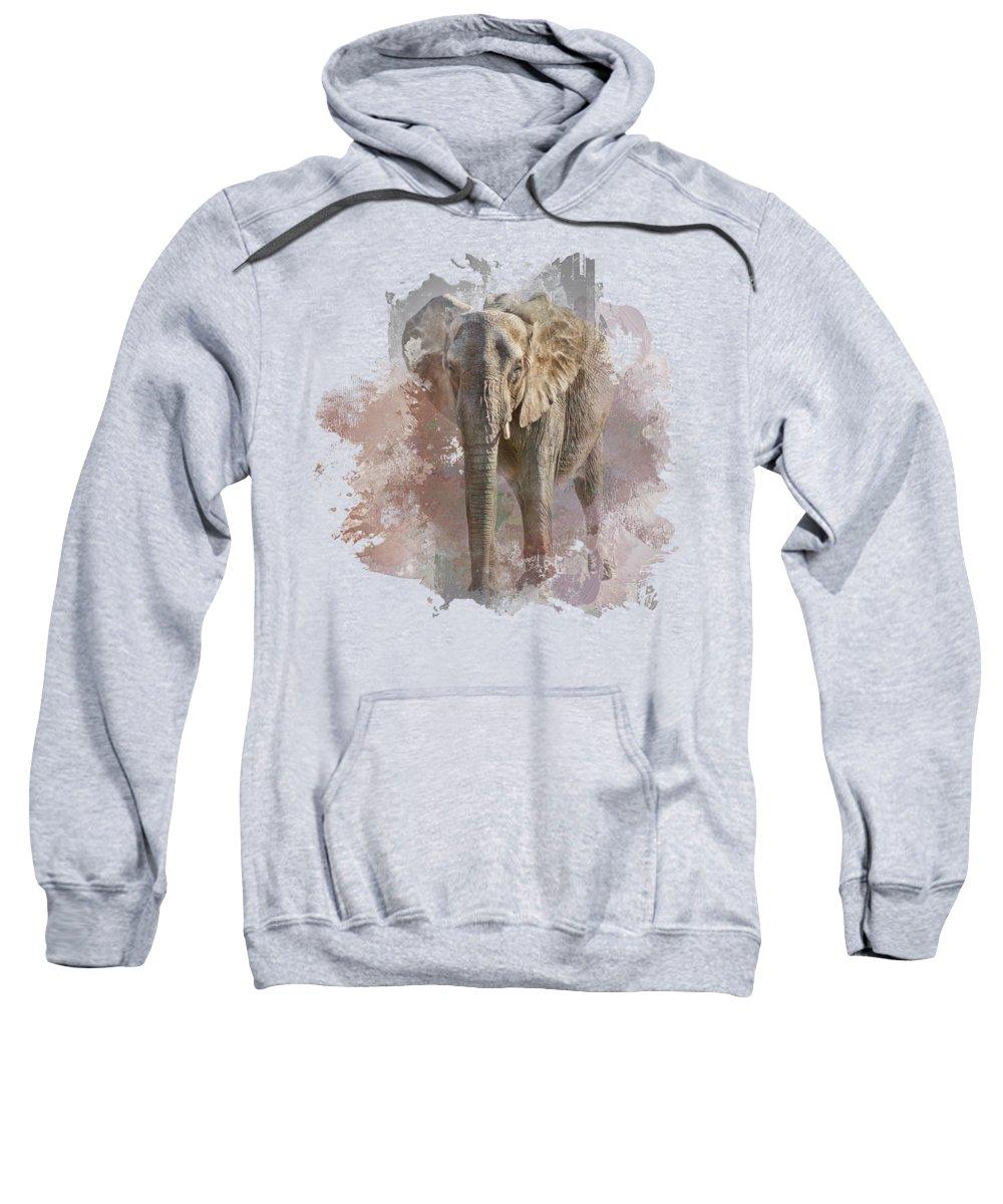 African Elephant Photographs Hooded Sweatshirts T-Shirts