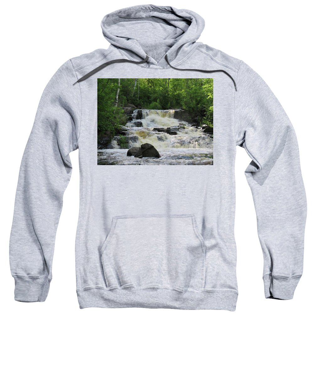 Duluth Sweatshirt featuring the photograph After The Rain by Alison Gimpel