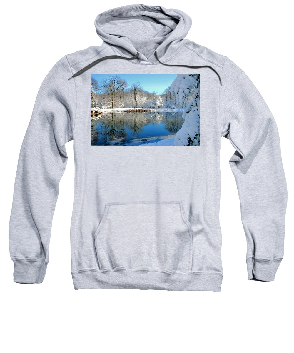 Lake Sweatshirt featuring the photograph After The Storm by Kristin Elmquist