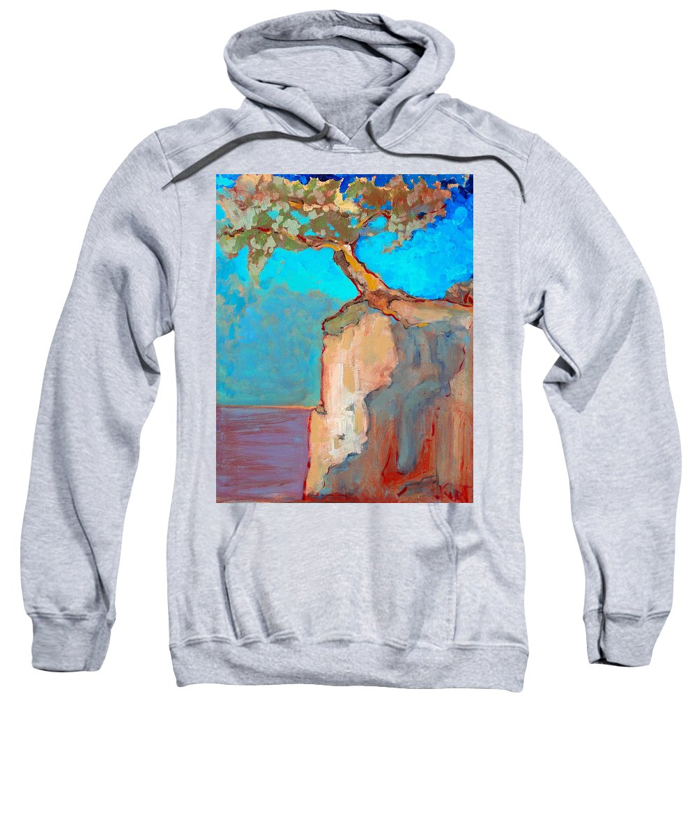 Tree Sweatshirt featuring the painting Albero by Kurt Hausmann
