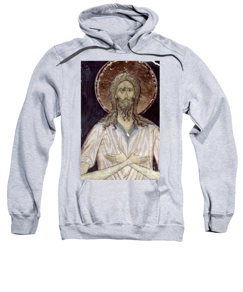 15th Century Sweatshirt featuring the photograph Alexis The Gods Man by Granger