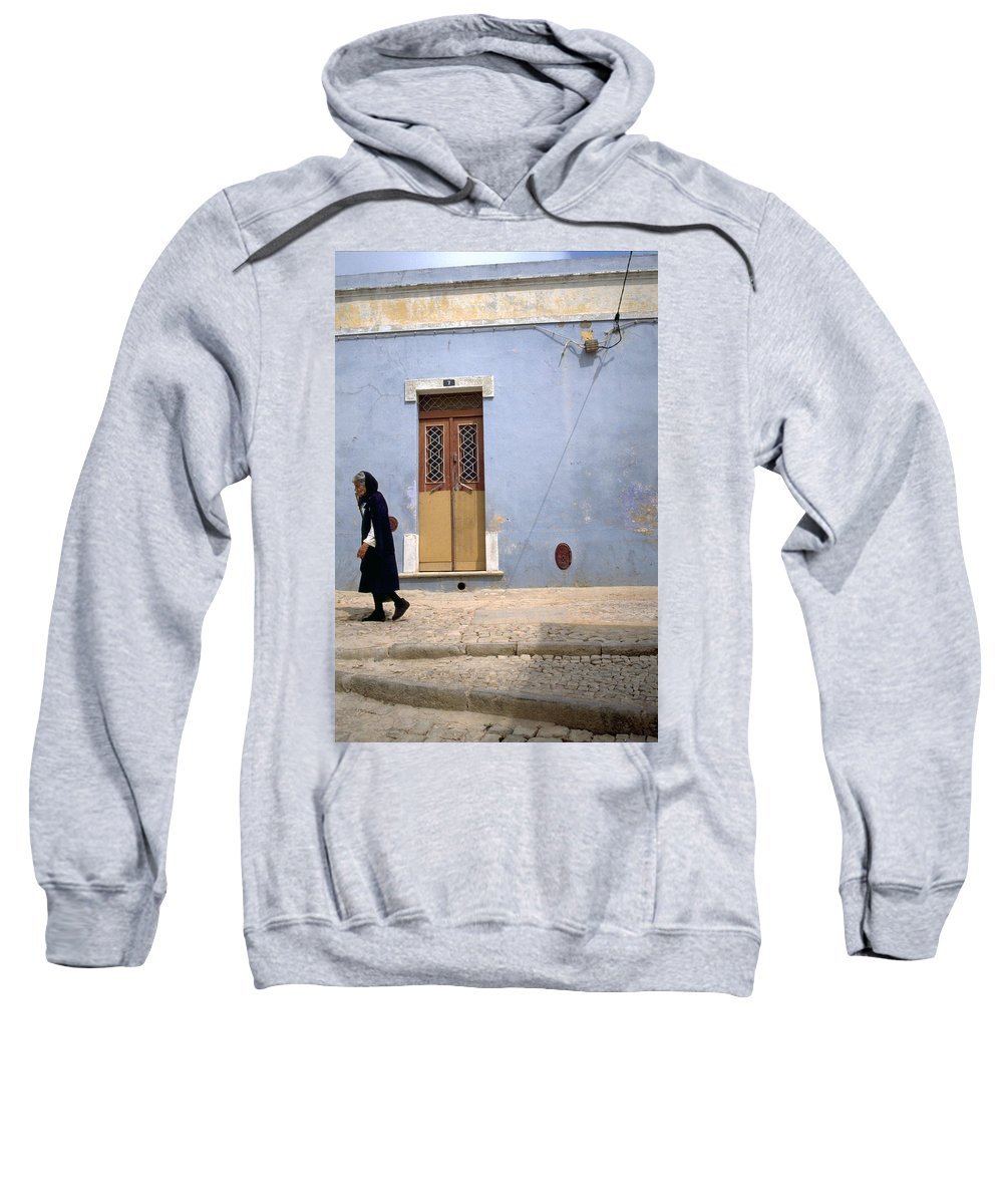 Algarve Sweatshirt featuring the photograph Algarve II by Flavia Westerwelle