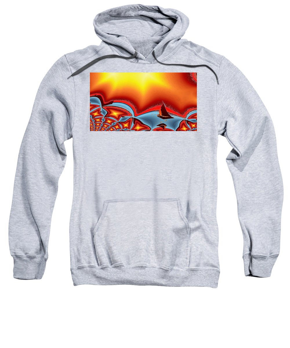 Sail Sweatshirt featuring the photograph Alki Sail Under The Sun 2 by Tim Allen