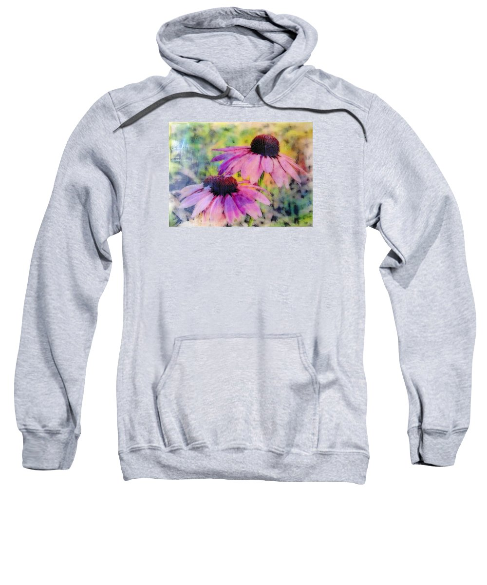 Blooms Sweatshirt featuring the photograph All Delights Are Vain by Karen Brown