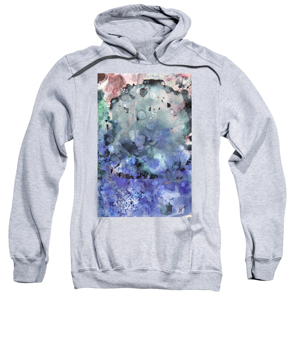 Remains Sweatshirt featuring the painting All That Remains 2 Gates Of Hell by Tammy Finnegan