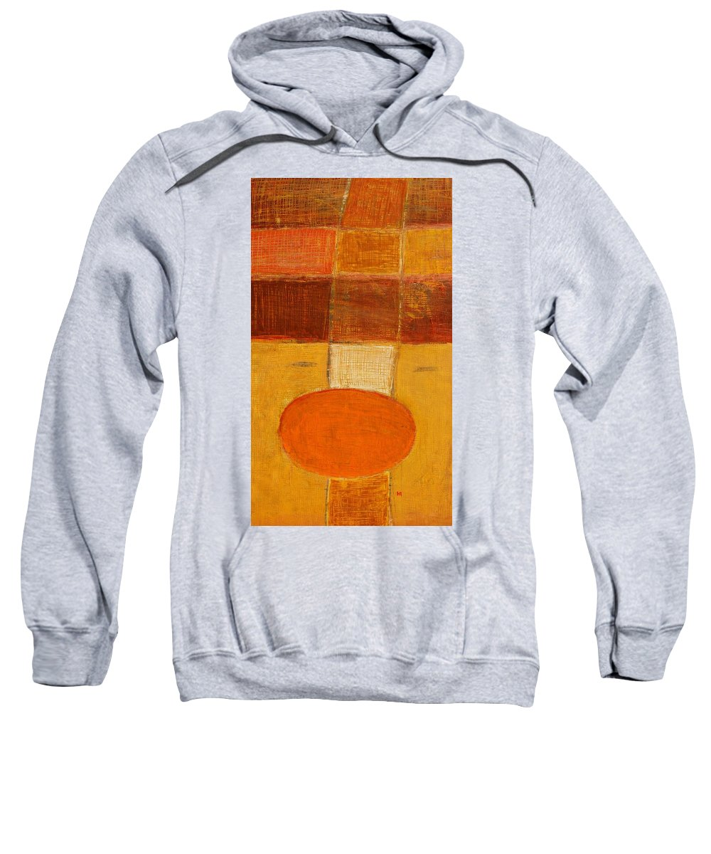 Abstract Sweatshirt featuring the painting All The Way by Habib Ayat