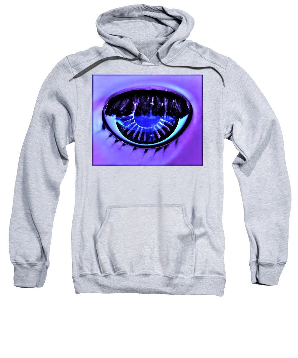 Photograph Of Doll Eye Sweatshirt featuring the photograph Alluring by Gwyn Newcombe