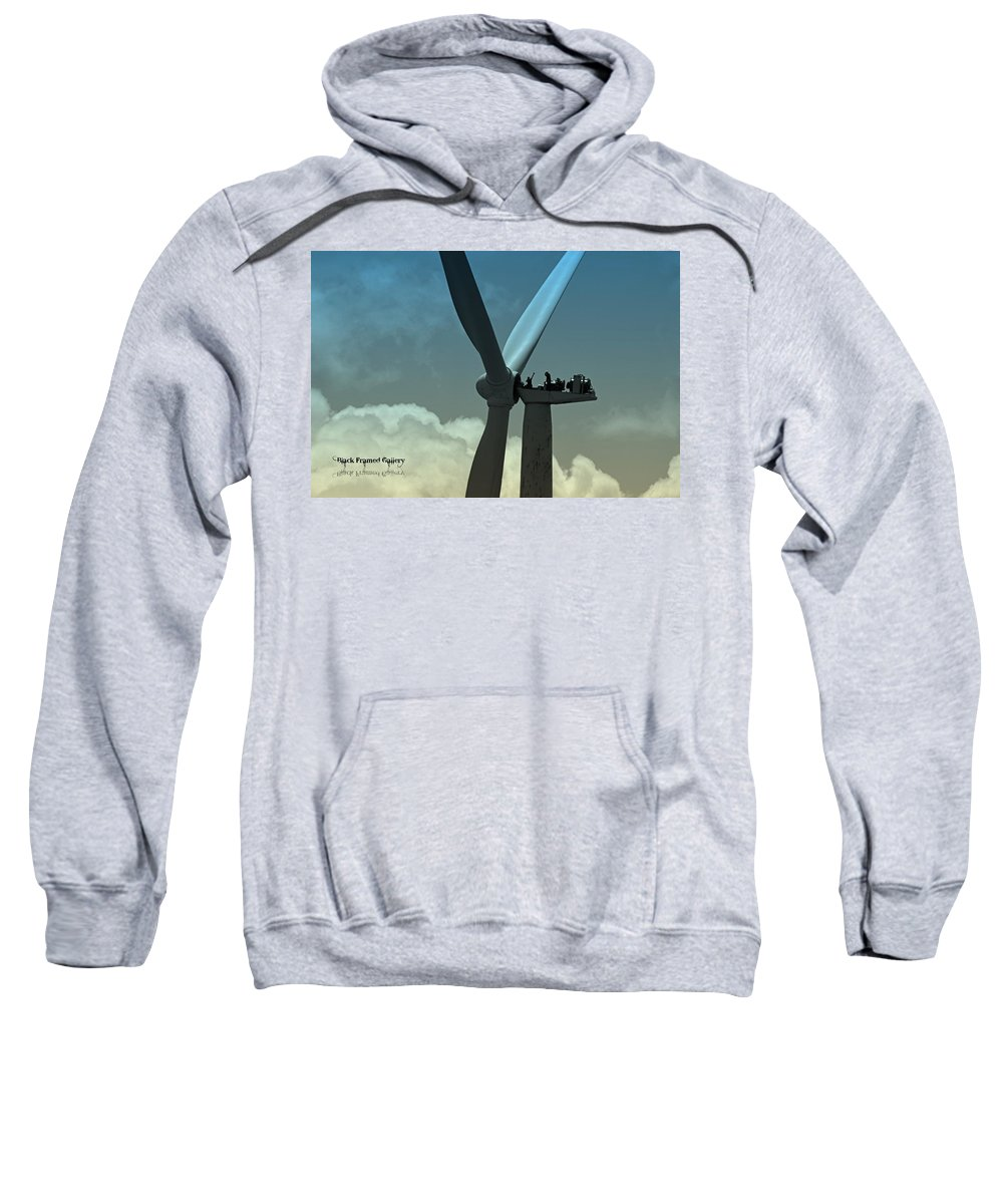 In God's Eyes We Are Perfect! He Puts Us In His Perfect Plan! Sweatshirt featuring the photograph Almost Out Of Sight by Kurt Keller