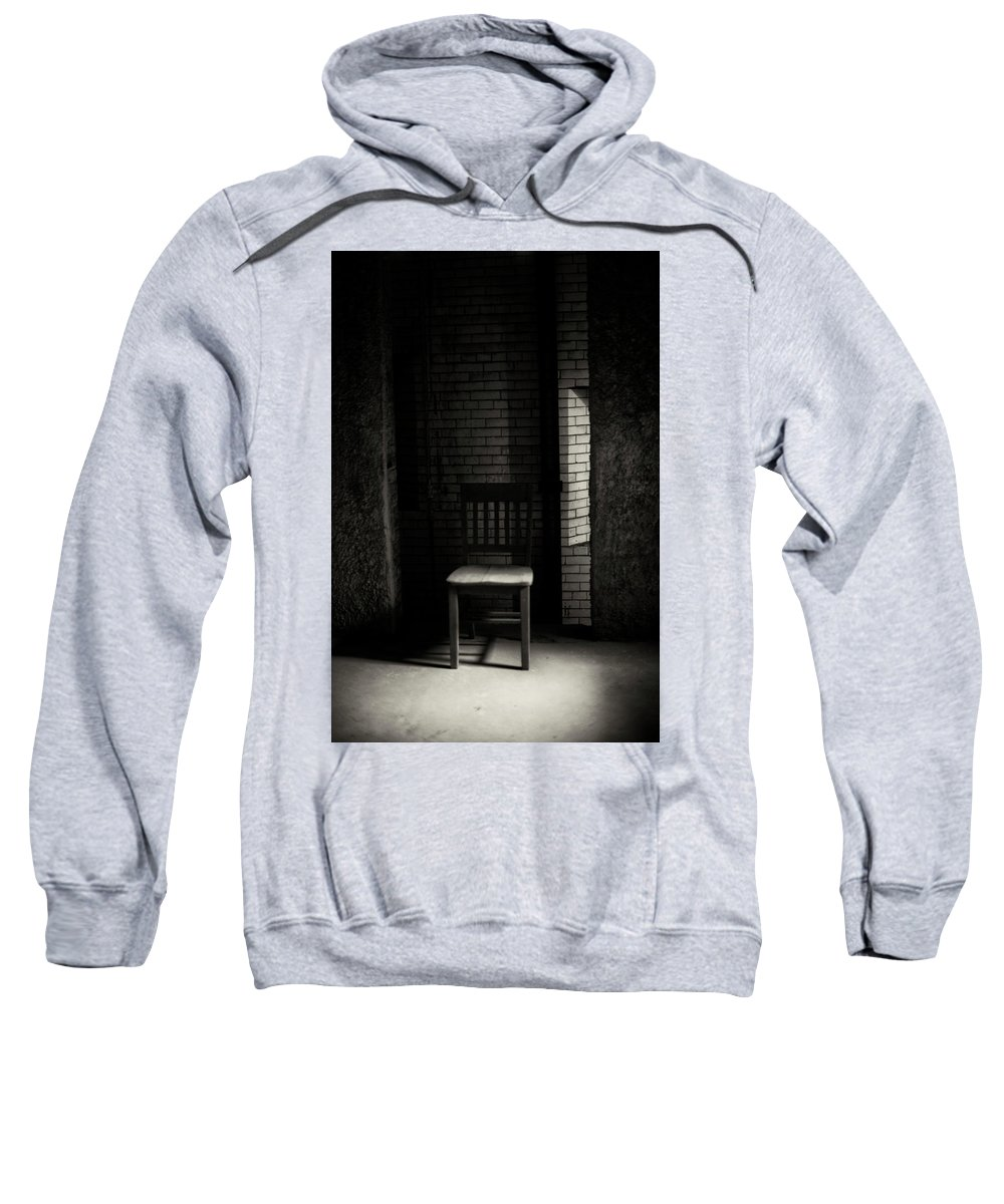 Chair Sweatshirt featuring the photograph Alone In The Room by Rose Badlani
