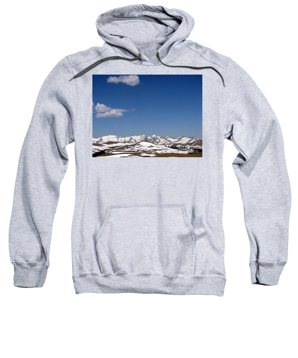 Mountains Sweatshirt featuring the photograph Alpine Tundra Series by Amanda Barcon