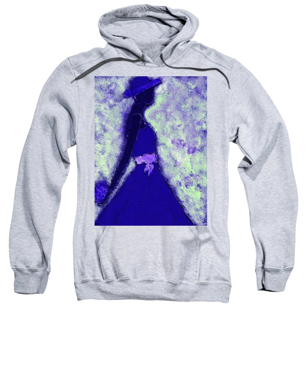 Woman Sweatshirt featuring the painting Always A Bridesmaid by Wayne Potrafka