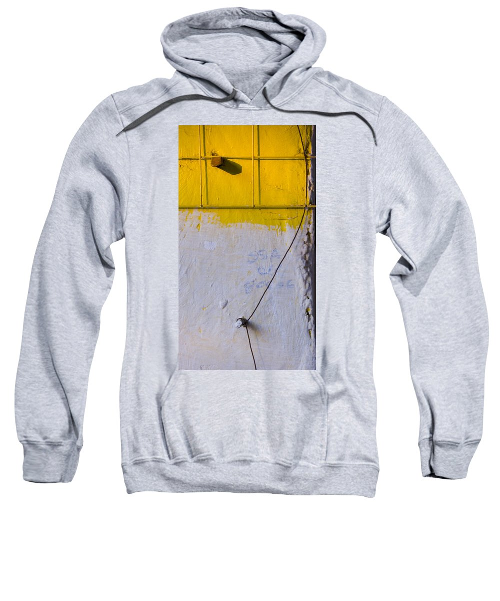 Abstract Sweatshirt featuring the photograph Amarillo by Skip Hunt