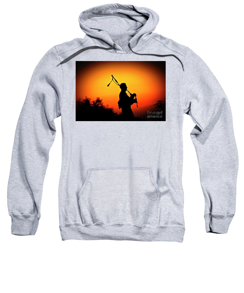Sunset Sweatshirt featuring the photograph Amazing Grace by Jim Cazel