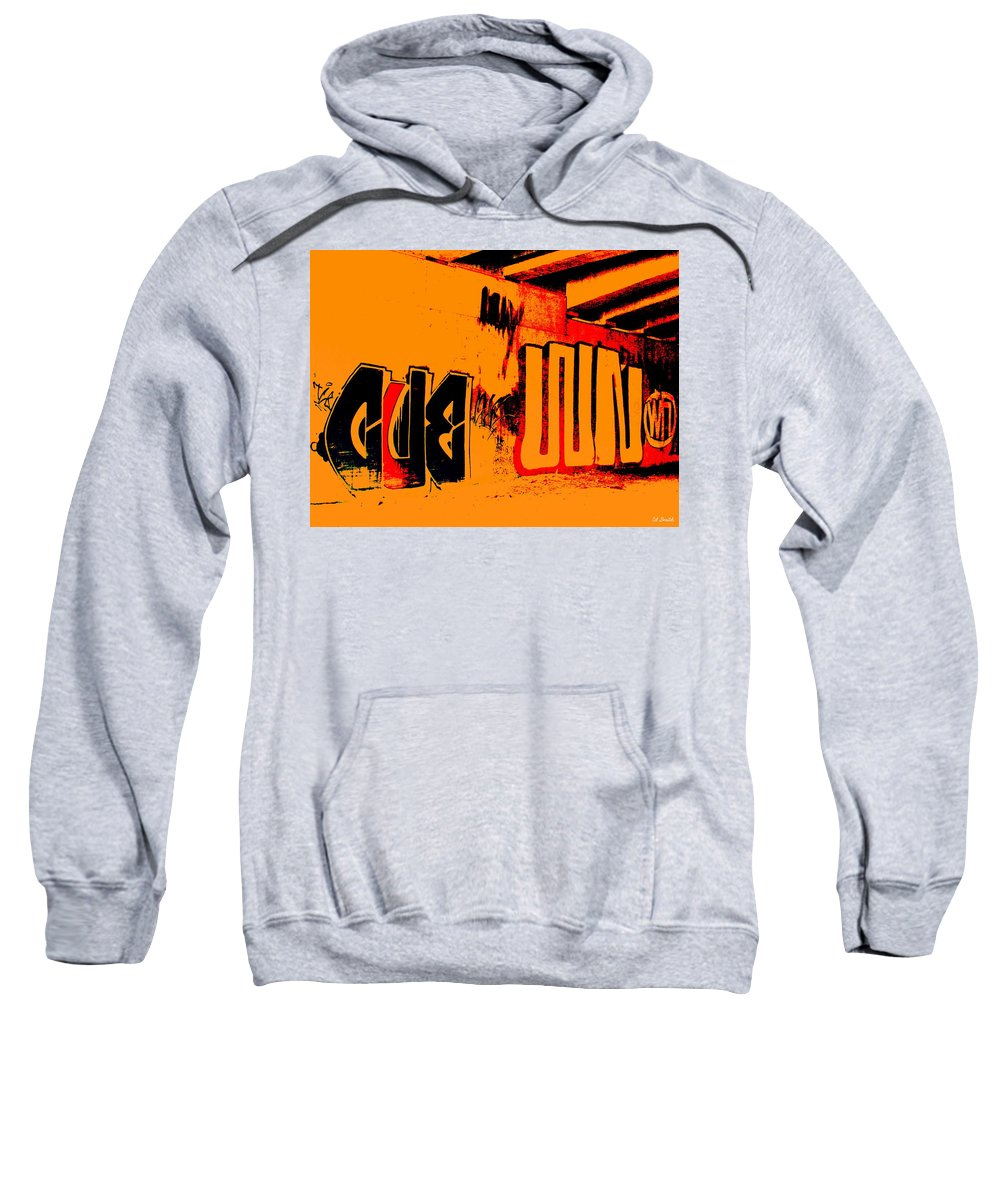 Still Life Sweatshirt featuring the photograph American Graffiti 3 - This Buds For You by Ed Smith