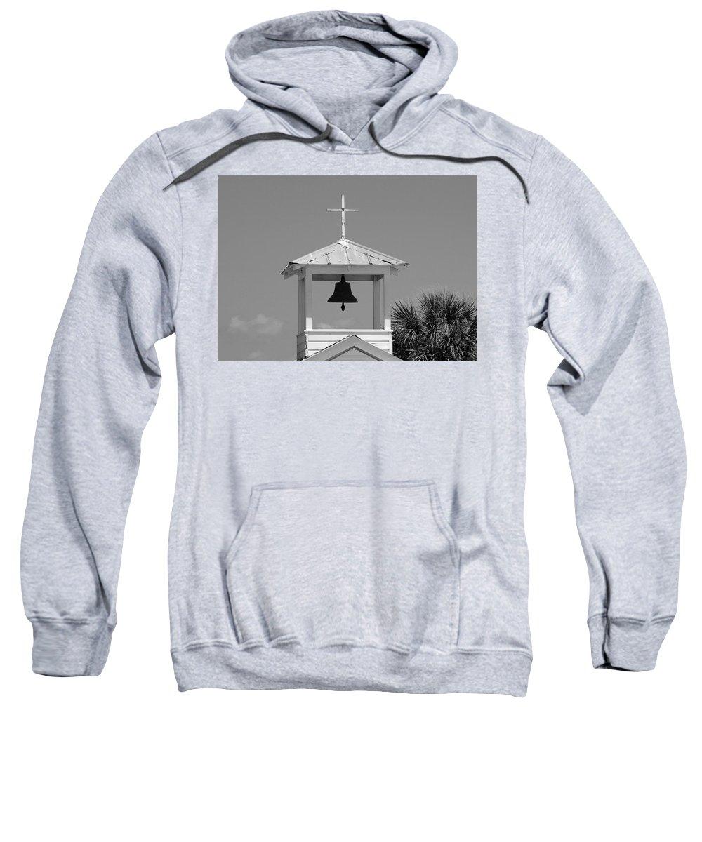 Photo For Sale Sweatshirt featuring the photograph Amory Memorial Chapel Boca Grande Fl by Robert Wilder Jr