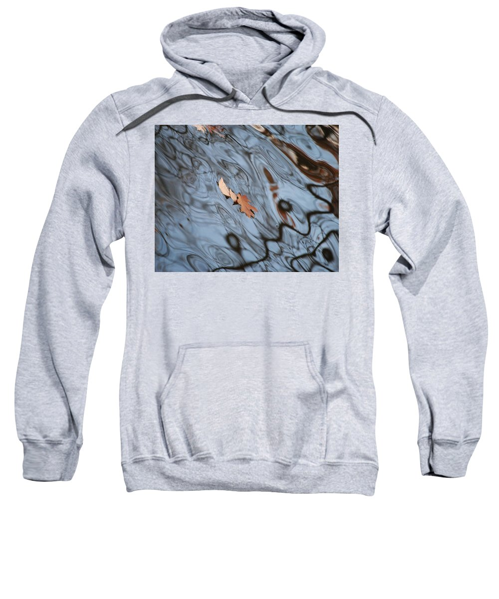 Abstract Sweatshirt featuring the photograph An Abstract Reality by Frozen in Time Fine Art Photography