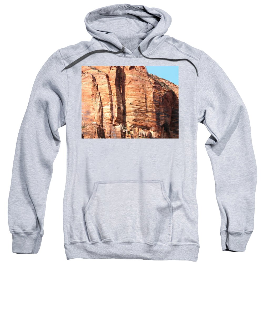 An Eagle Soars Sweatshirt featuring the photograph An Eagle Soars by Will Borden