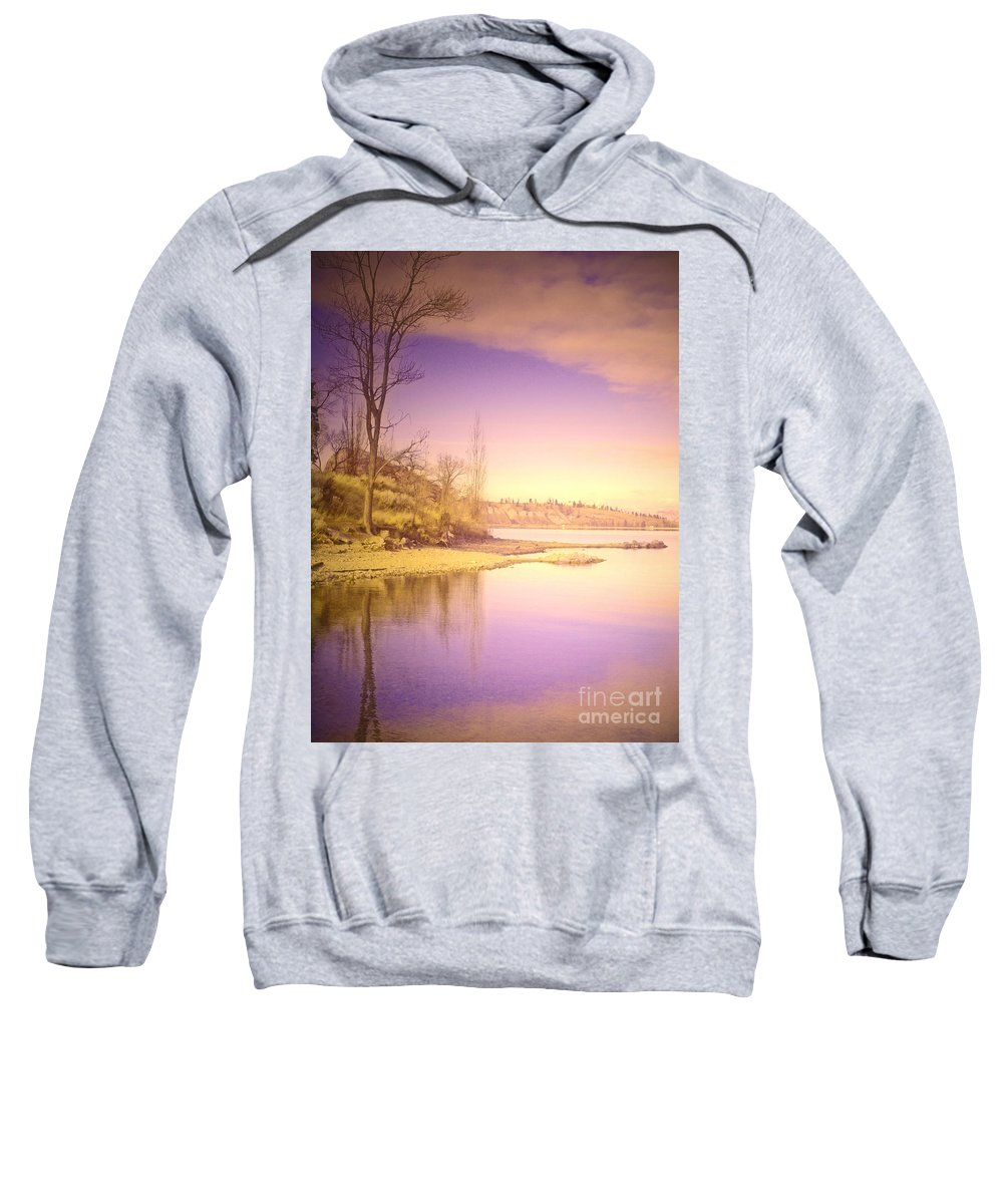 Lake Sweatshirt featuring the photograph An Okanagan Calm by Tara Turner
