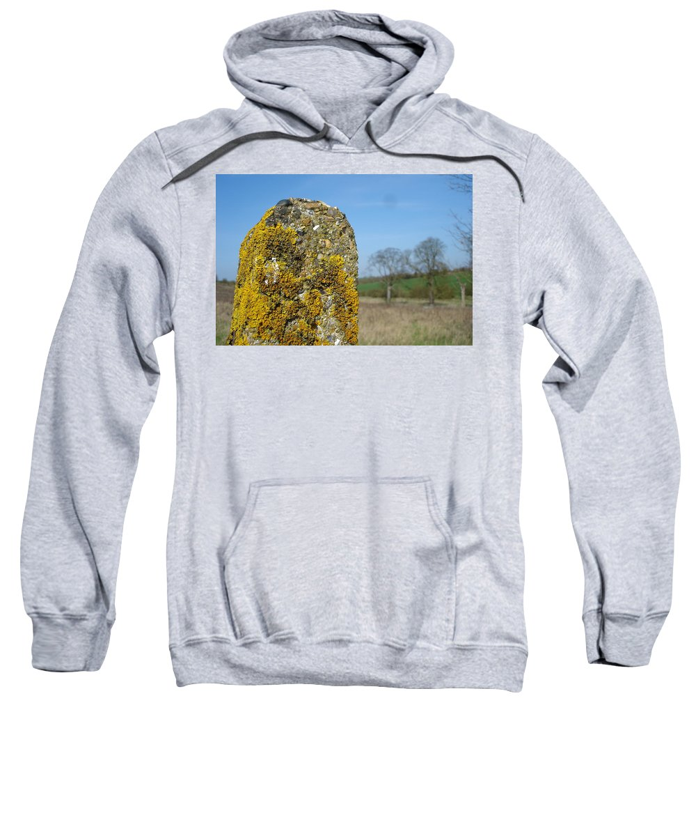 Landscape Sweatshirt featuring the photograph Ancient Stone by Susan Baker