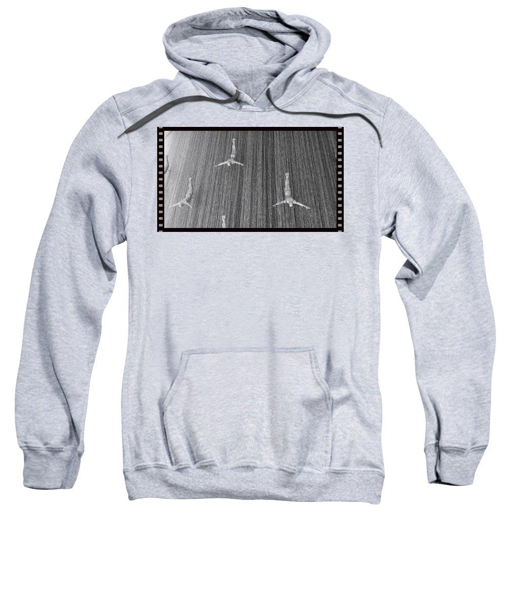 Interior Design Sweatshirt featuring the photograph And When The Rain Began... by Mario MJ Perron