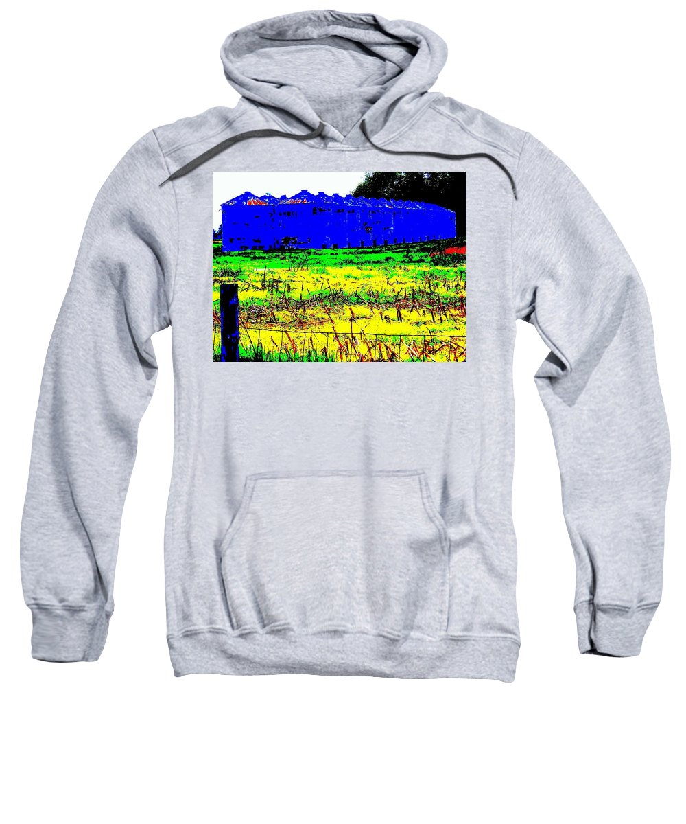 Landscape Sweatshirt featuring the photograph Andys Farm by Ed Smith