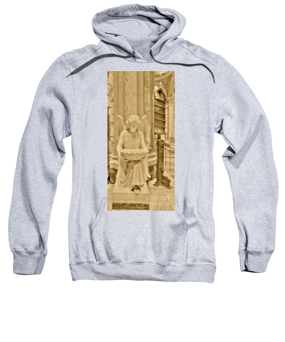 Angel Sweatshirt featuring the photograph Angel Of Love by Kathleen Struckle