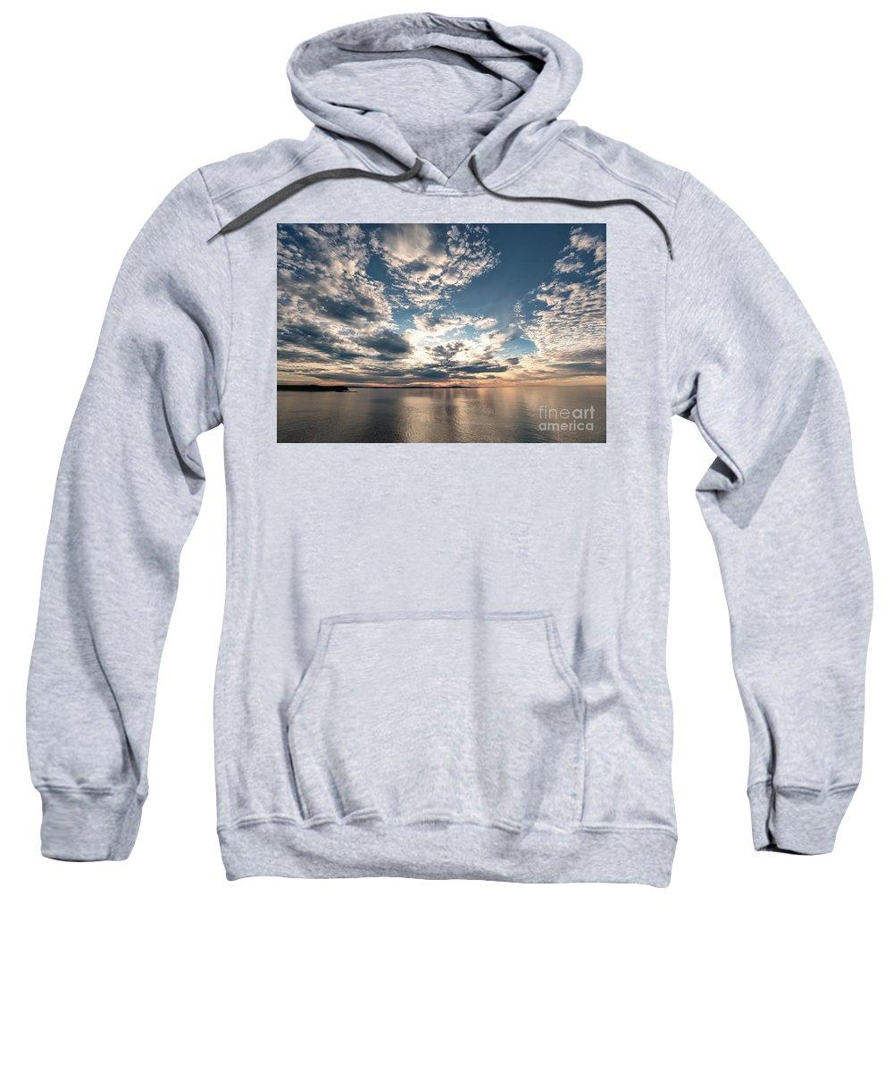 Park Loop Road Sweatshirt featuring the photograph Angel Wings by Susan Garver