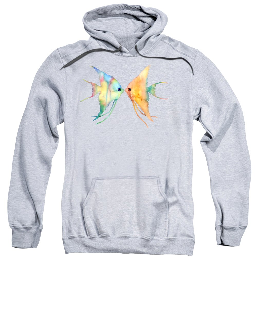 Delicate Hooded Sweatshirts T-Shirts