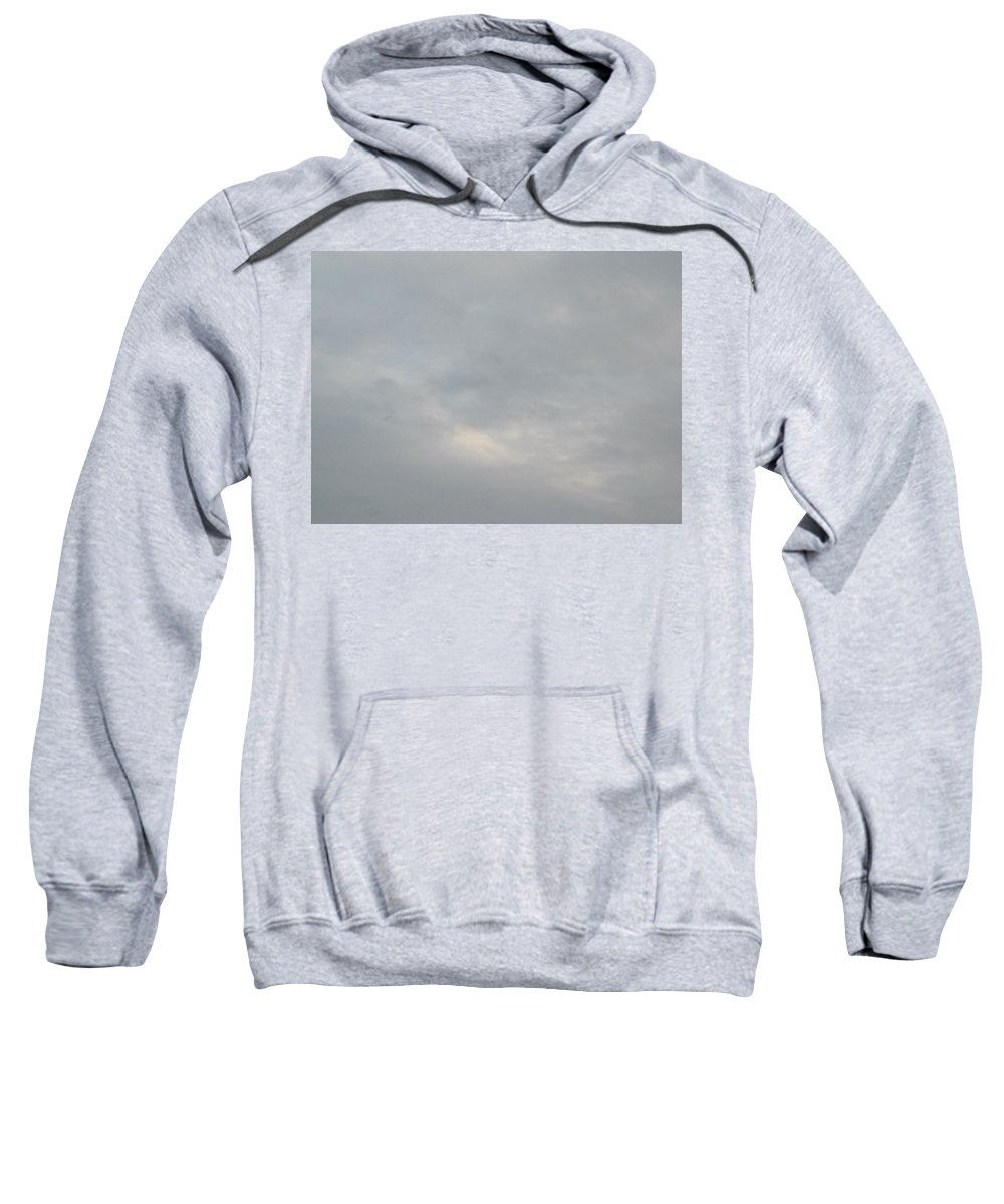Angels Sky Clouds Sweatshirt featuring the photograph Angels In The Sky #1 by George Woods