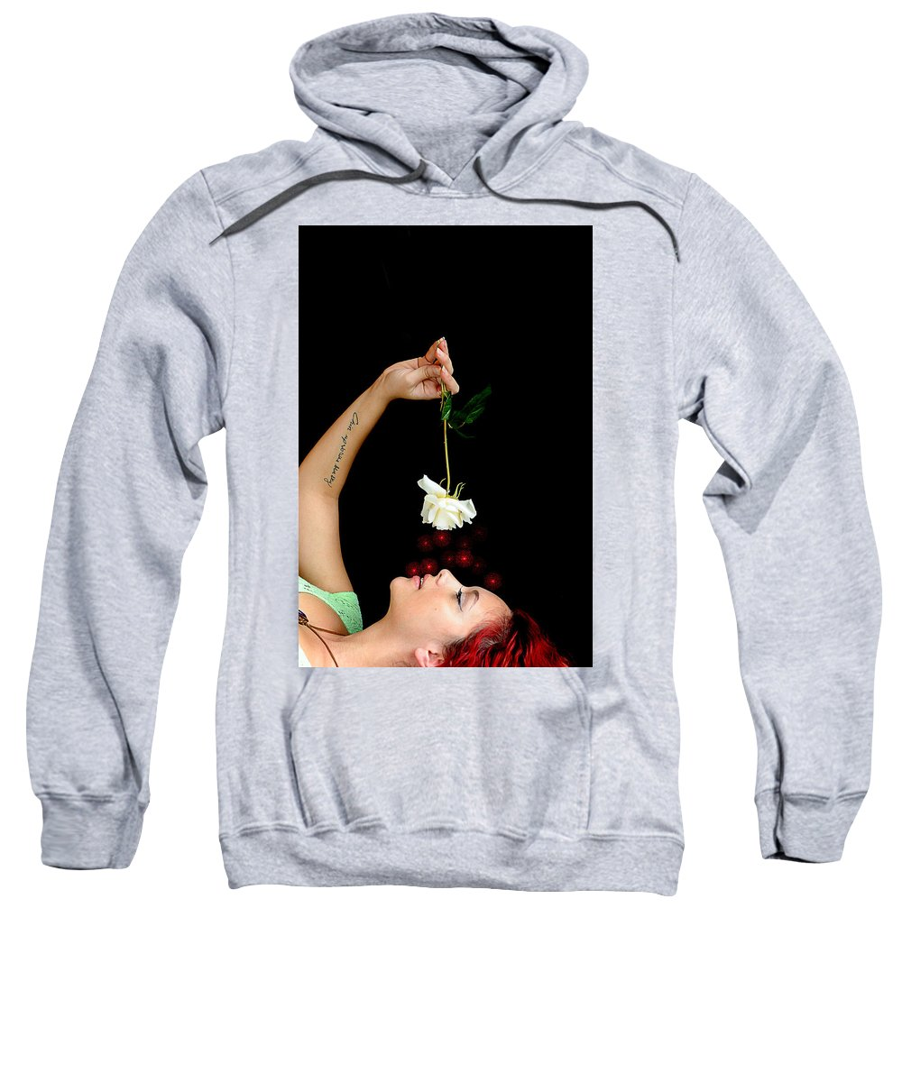 Courtney Sweatshirt featuring the photograph Another Flower by Bill Munster