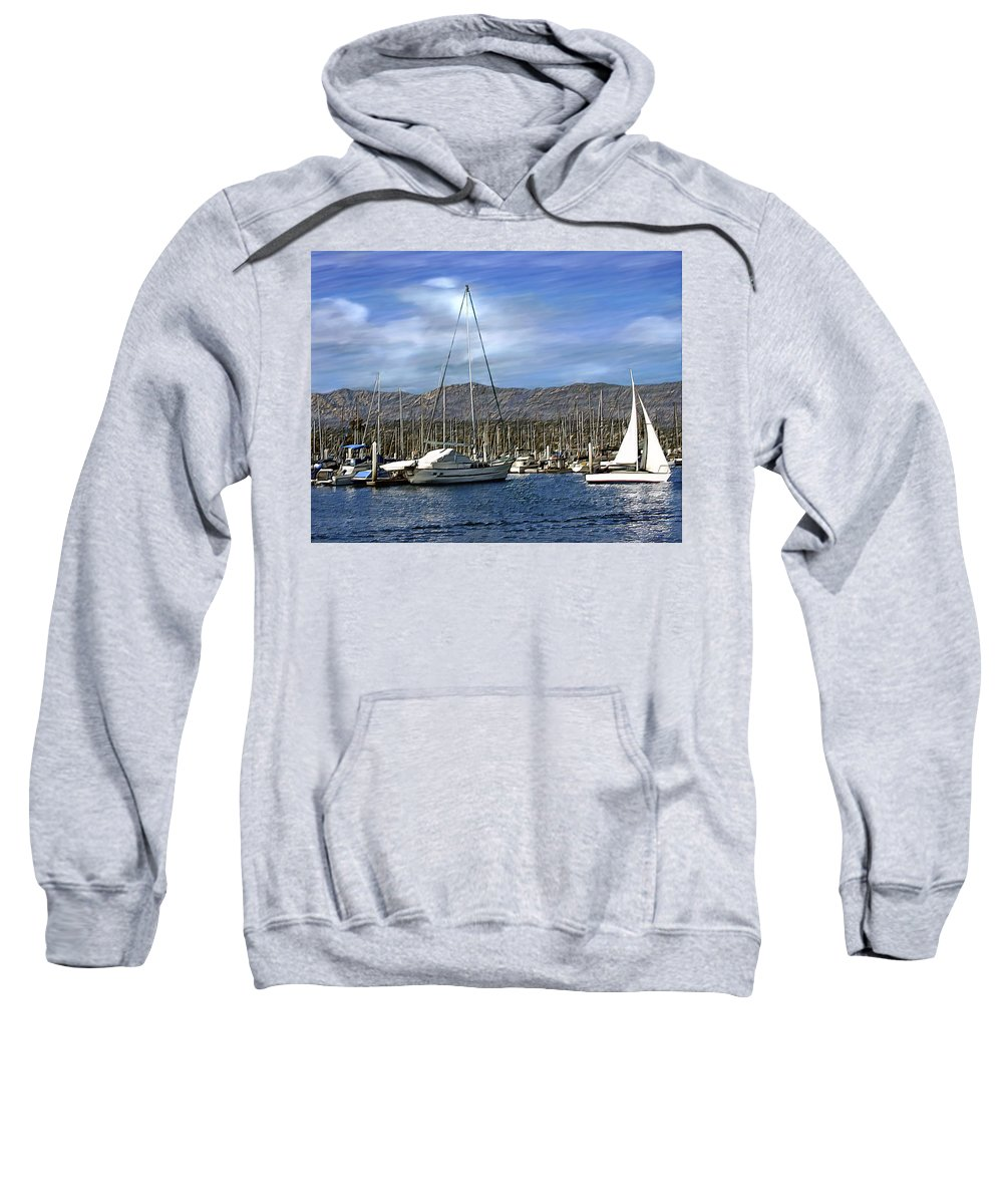 Ocean Sweatshirt featuring the photograph Another Sunny Day by Kurt Van Wagner