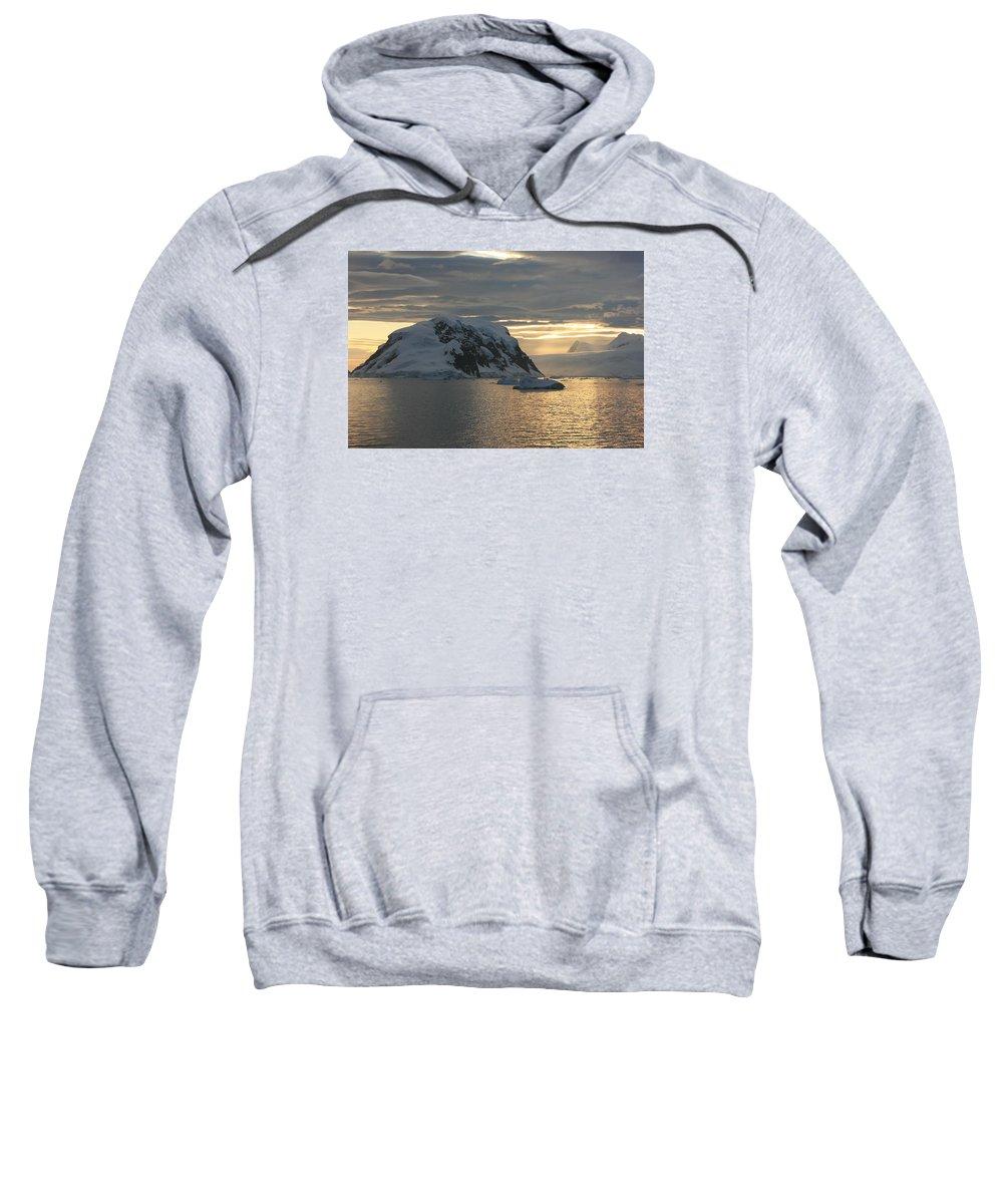 Antarctica Sweatshirt featuring the photograph Antarctic Coast by Andrew Parker