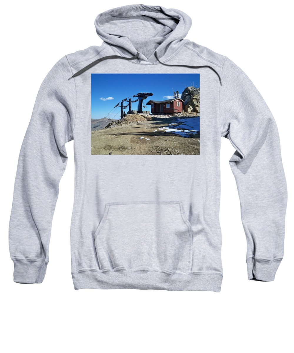 Landscape Sweatshirt featuring the photograph Anticipation by Michael Cuozzo