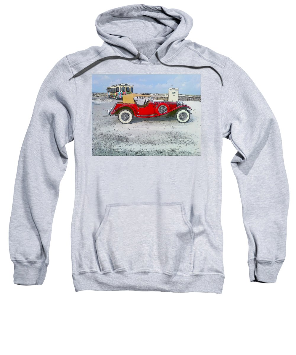 Old Car Sweatshirt featuring the photograph Antique Car by Michelle Powell