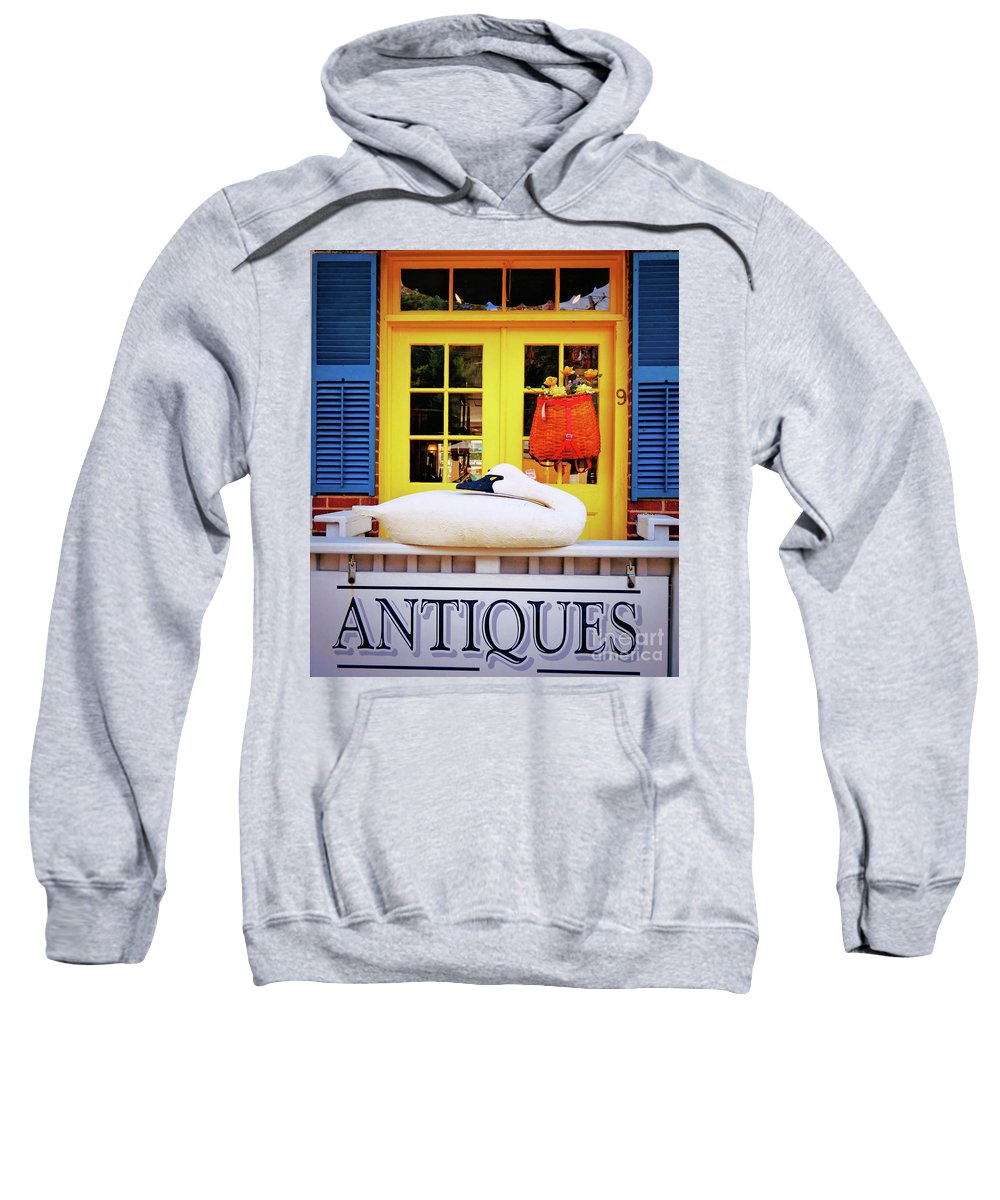 Still Life Sweatshirt featuring the photograph Antiques by Sharon Eng