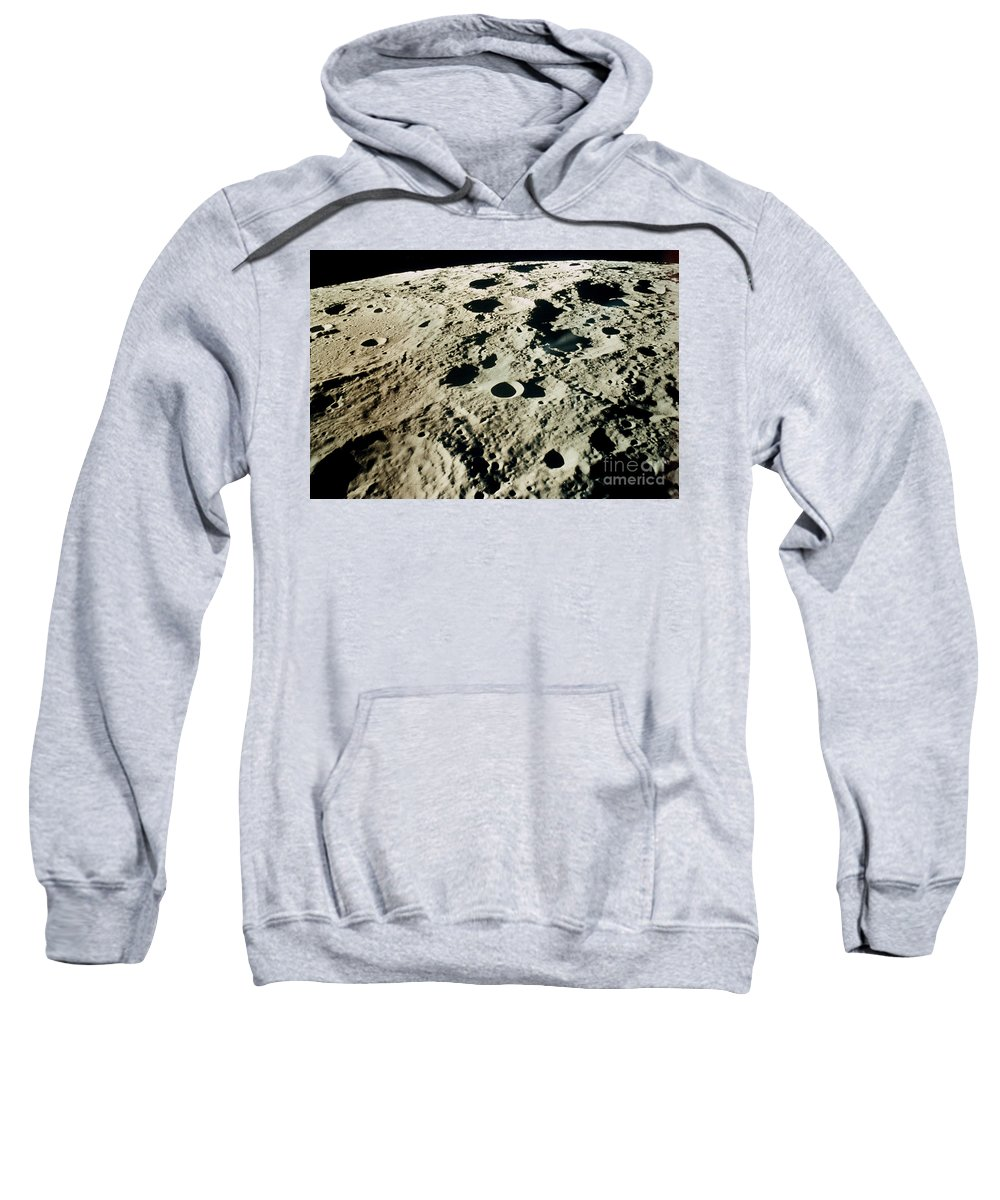 1971 Sweatshirt featuring the photograph Apollo 15: Moon, 1971 by Granger