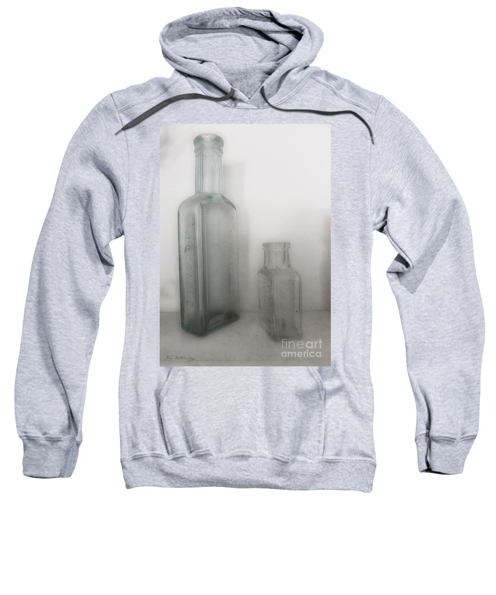 Antique Sweatshirt featuring the photograph Apothecary Antiques by RC DeWinter