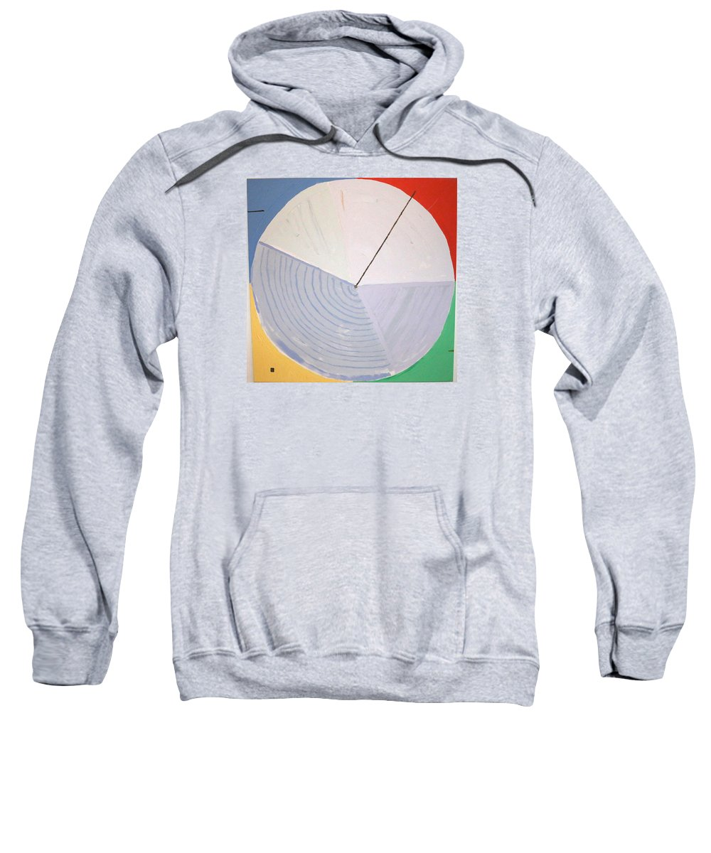 Landscape Sweatshirt featuring the painting Aquifer # 1 by Jonathan Perlstein