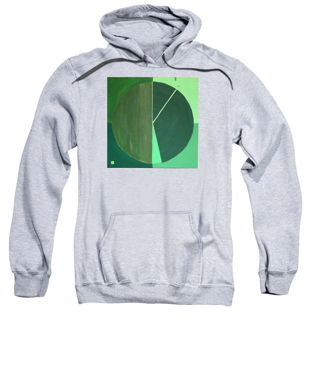 Landscape Sweatshirt featuring the painting Aquifer # 10 by Jonathan Perlstein