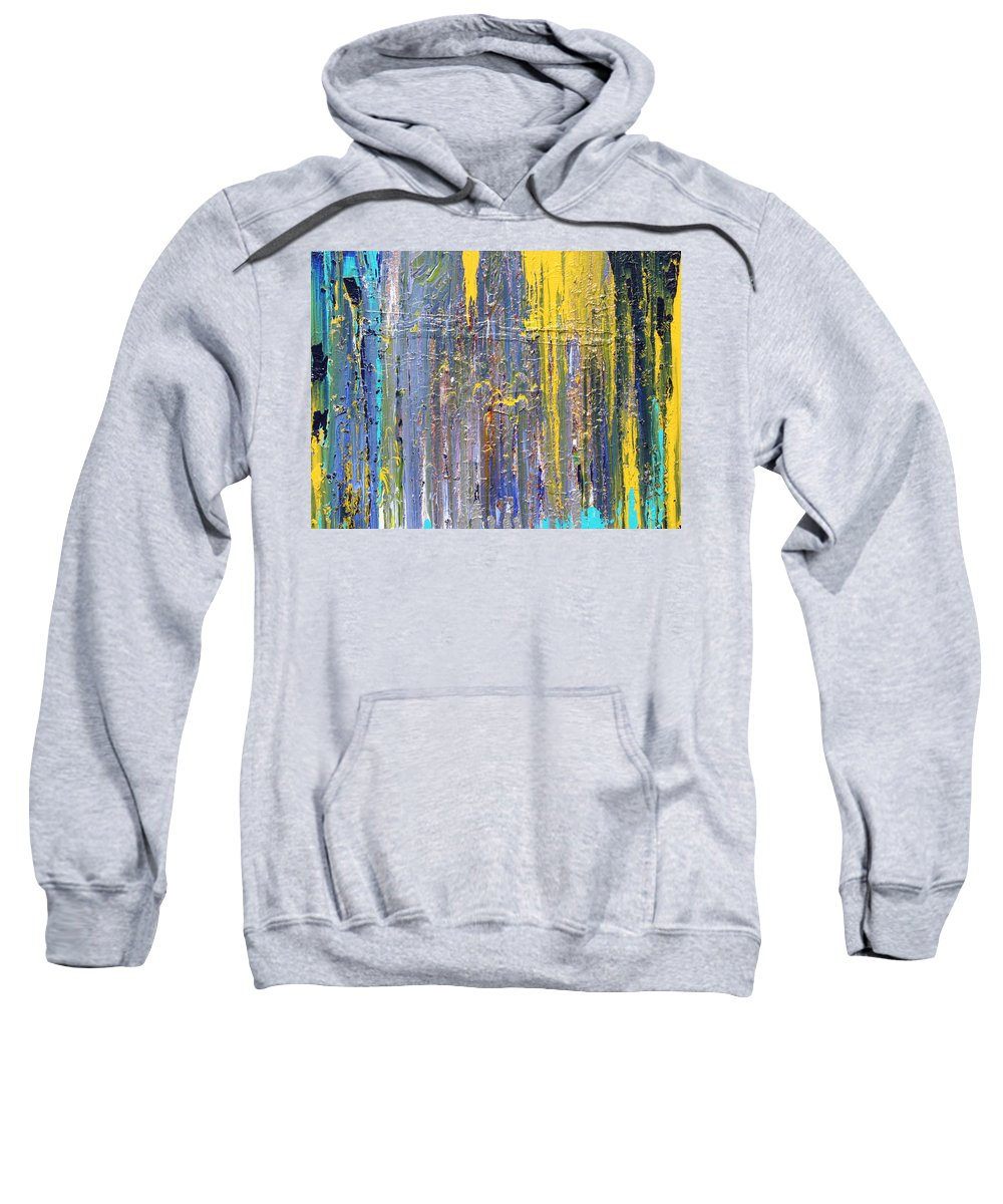 Fusionart Sweatshirt featuring the painting Arachnid by Ralph White