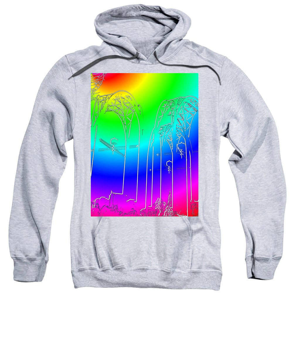 Seattle Sweatshirt featuring the photograph Arches 7 by Tim Allen