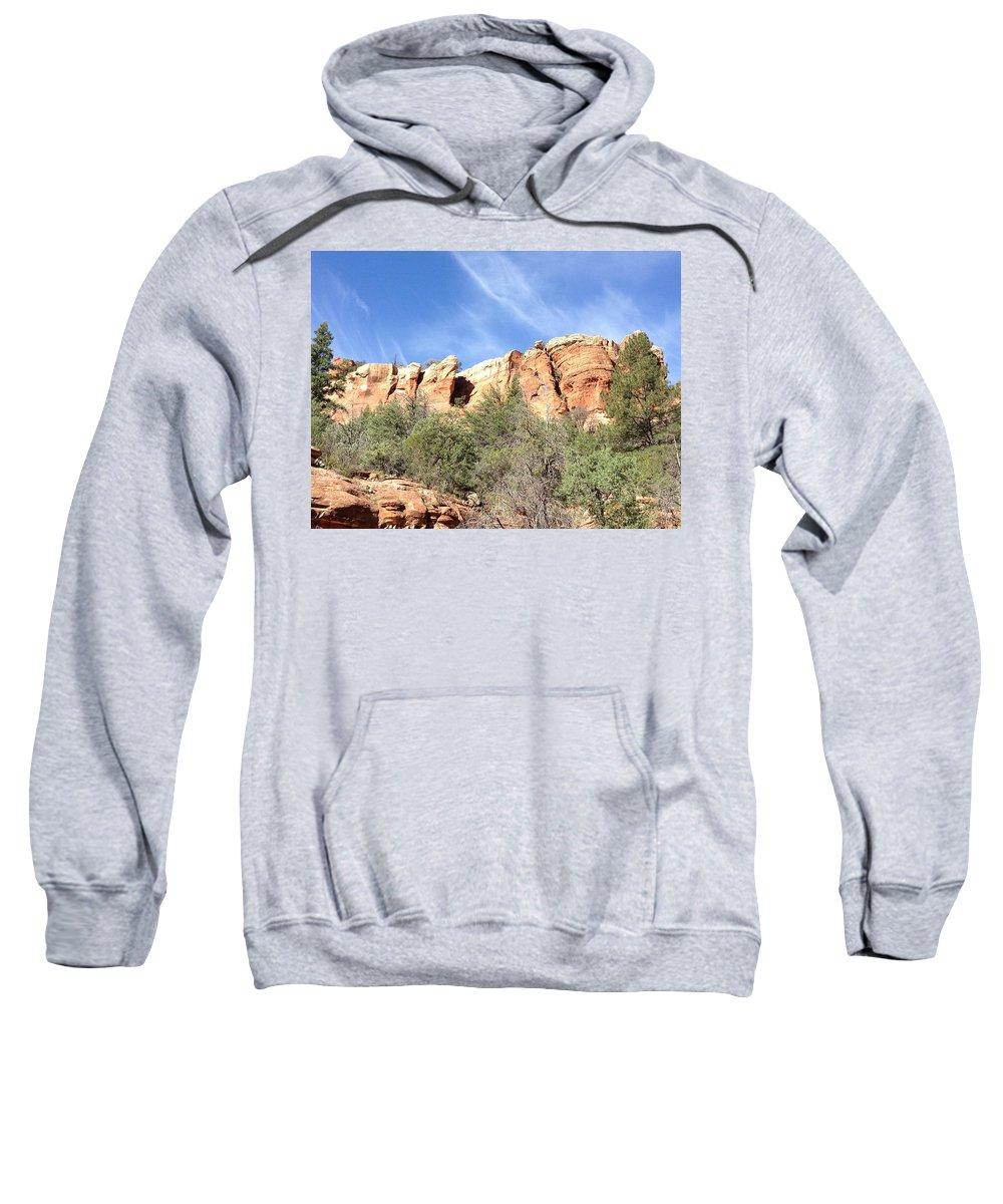 Arizona Sweatshirt featuring the photograph Arizona Canyon Two by Christine Oleson