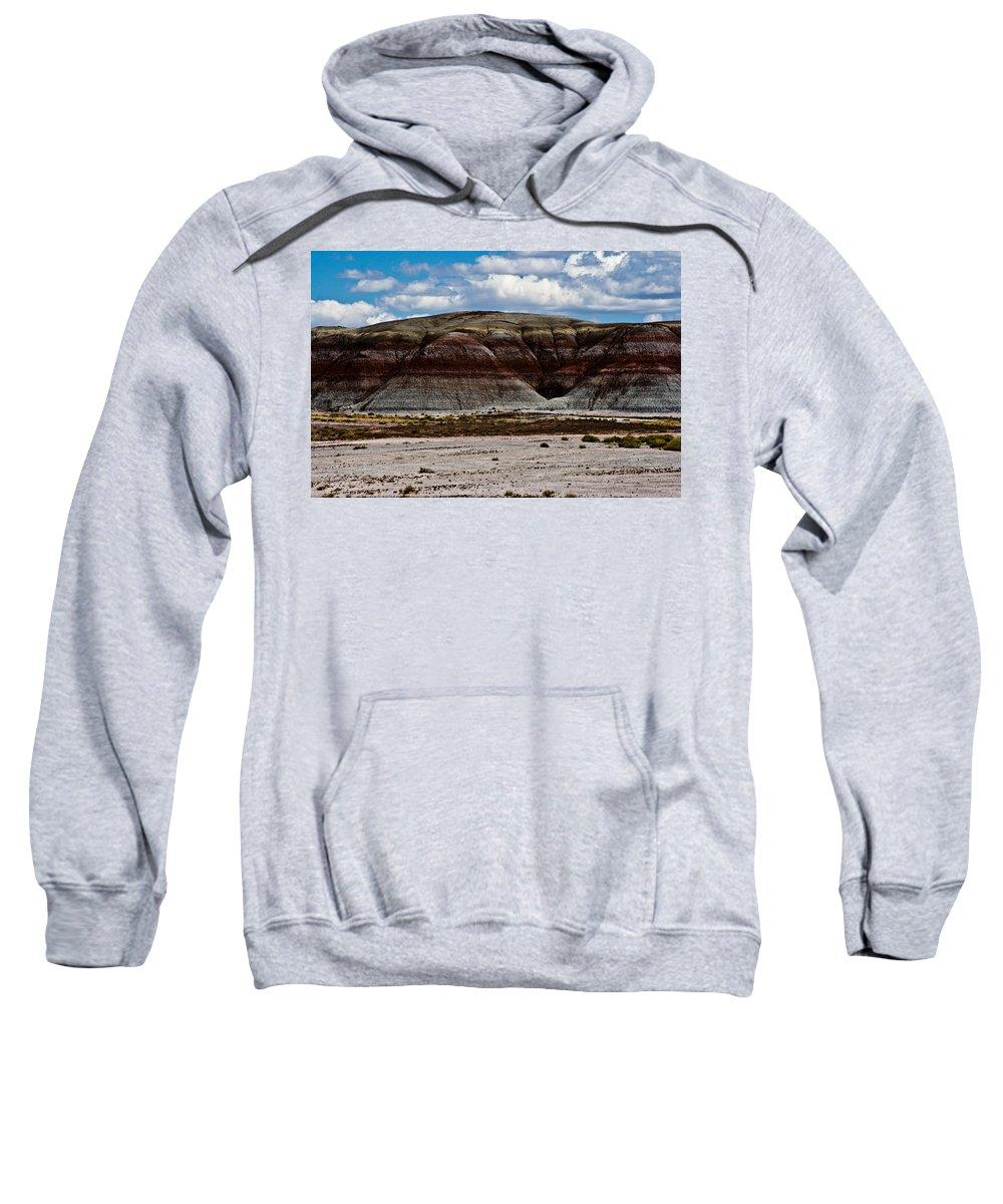 Painted Sweatshirt featuring the photograph Arizona's Painted Desert #3 by Robert J Caputo