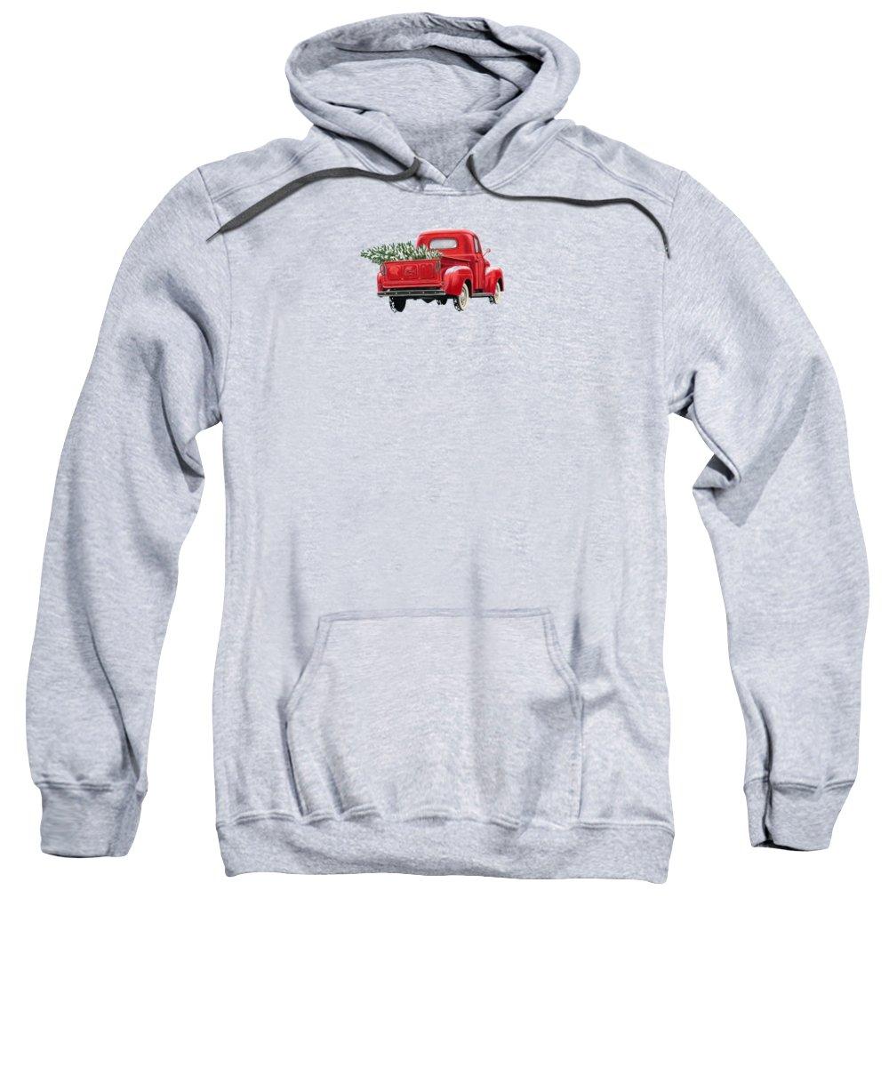 Truck Hooded Sweatshirts T-Shirts