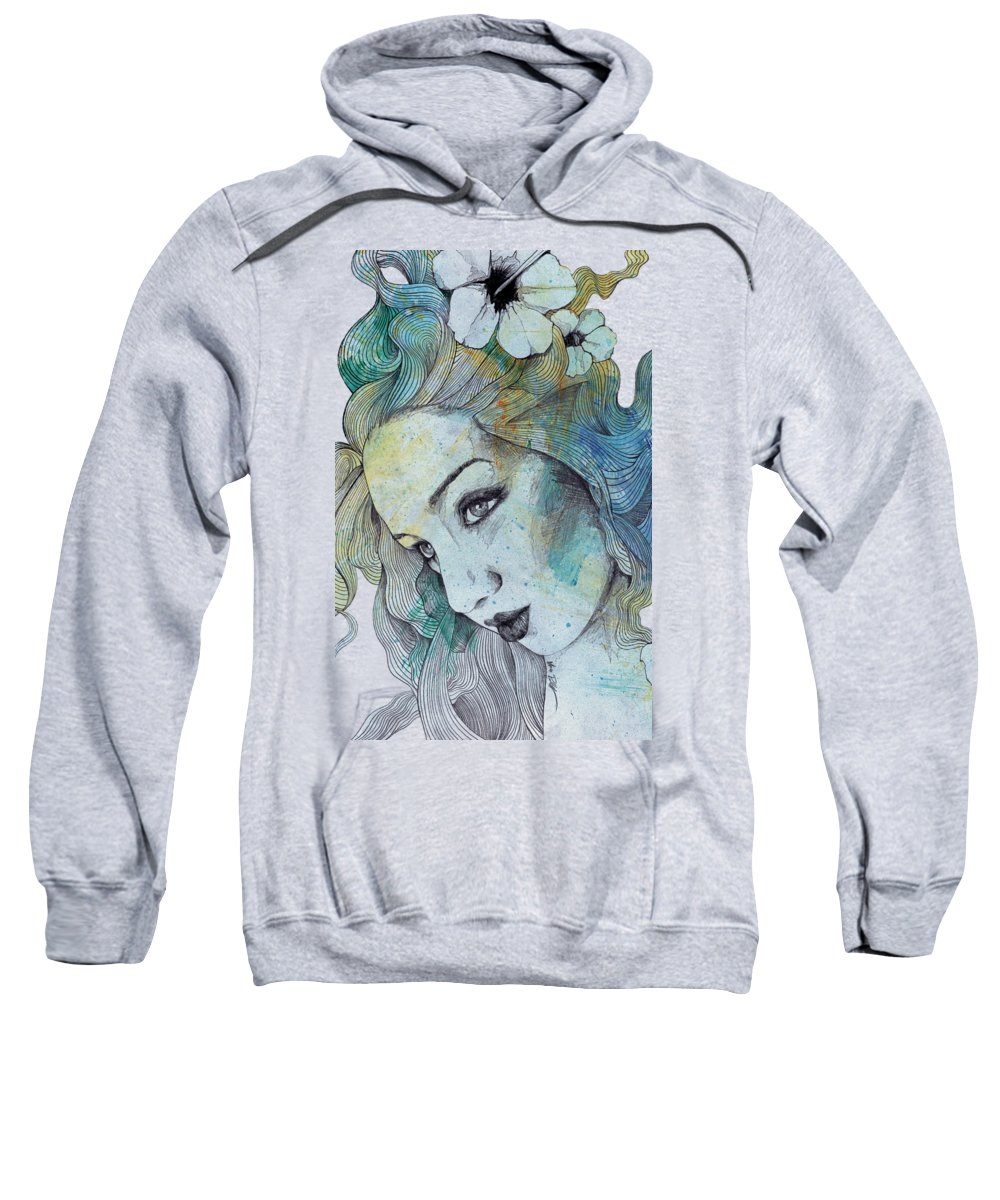 Pencil Sweatshirt featuring the drawing The Lowest Common Denominator by Marco Paludet