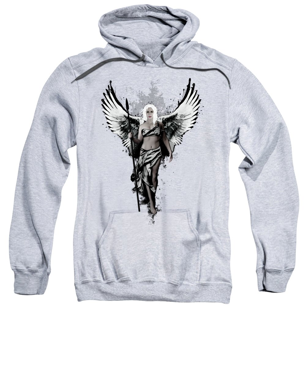 Swan Hooded Sweatshirts T-Shirts