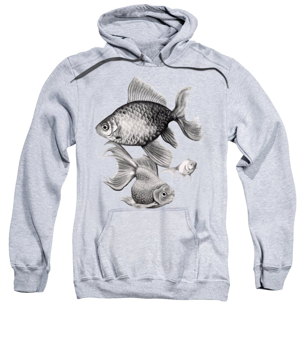 Koi Hooded Sweatshirts T-Shirts